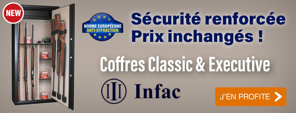 Infac Classic et Executive avec une nouvelle norme