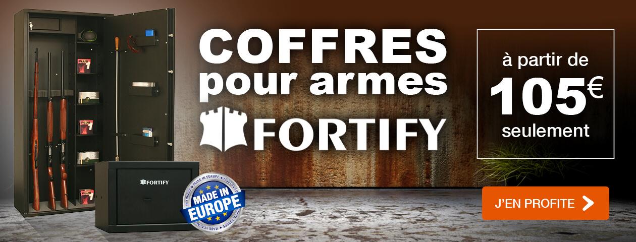 Coffres pour armes FORTIFY à partir de 105 €
