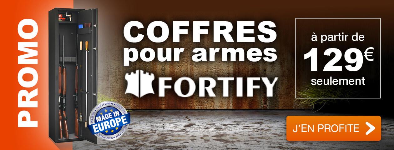 PROMO Coffres pour armes FORTIFY