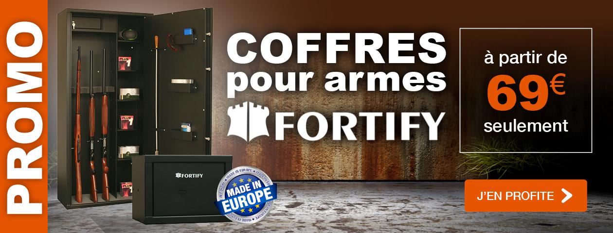 PROMO / Coffres FORTIFY pour armes