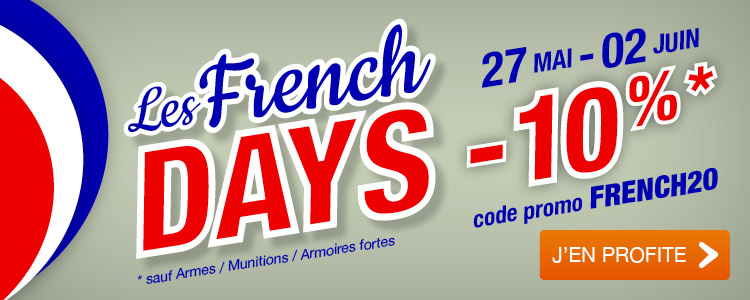 Remise 10% FRENCH DAYS Made in Chasse