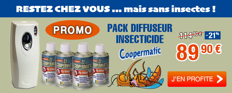 Pack diffuseur insecticide Coopermatic