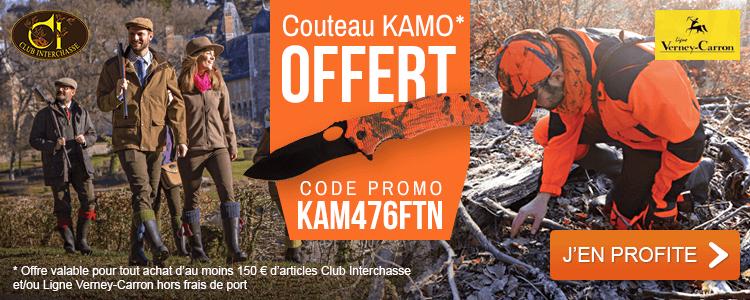OFFERT couteau Kamo Ligne Verney-Carron