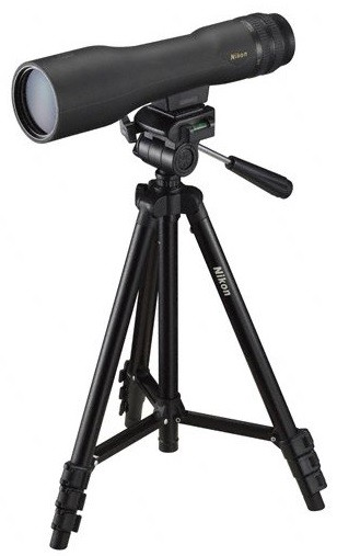 Longue-vue nikon prostaff 3 16-48x60 combo, made in chass...