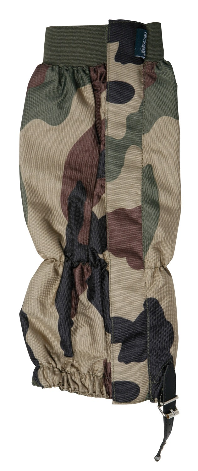 Guêtres de chasse percussion stronger camo, made in chass...