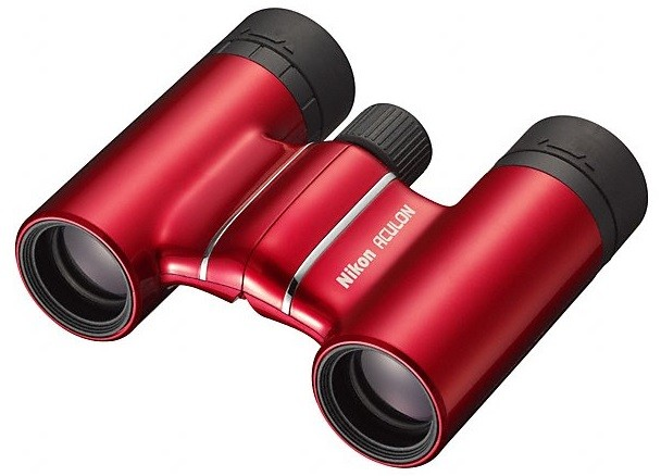 Jumelles nikon aculon t01 10x21 / rouge, made in chasse -...