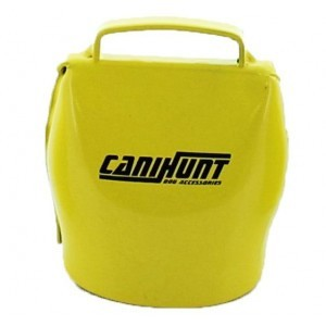 Cloche pour chien canihunt alp, jaune, taille 60 mm, made...