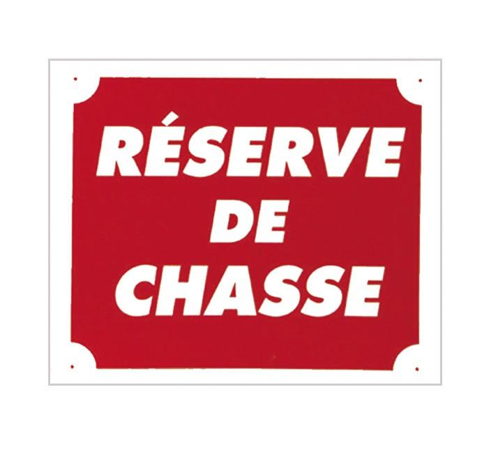 Pack 10 pancartes de chasse rÉserve de chasse, made in ch...
