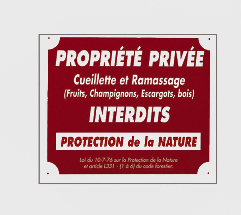 Pack 10 pancartes de chasse propriÉtÉ privÉe / 2, made in...