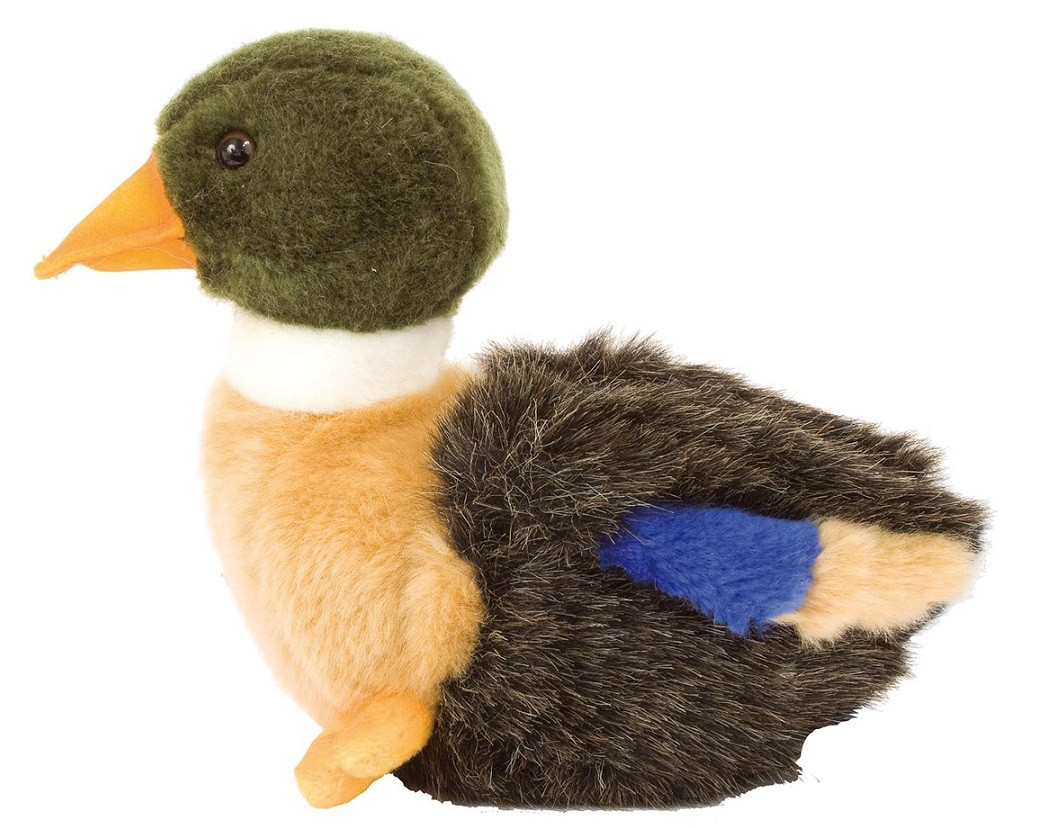 Peluche caneton 19 cm, made in chasse - equipements de ch...