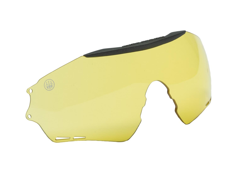 Verres pour lunettes de tir beretta puull - jaune, made i...