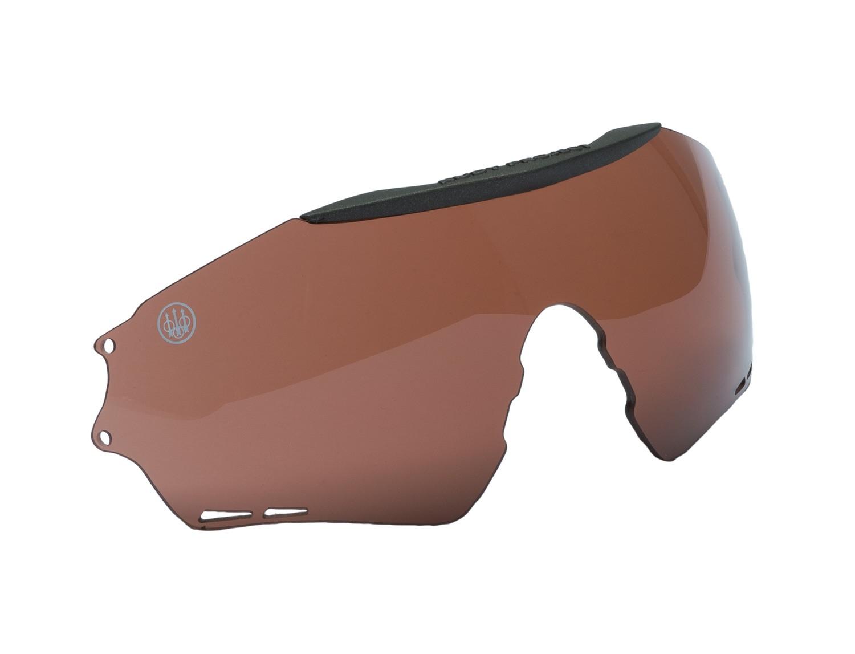 Verres pour lunettes de tir beretta puull - marron, made ...
