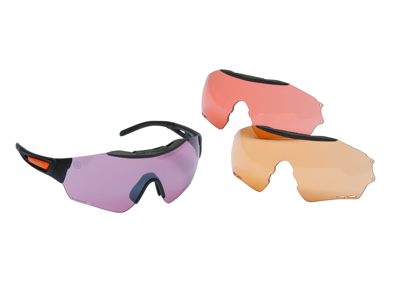 Lunettes de tir beretta puull - 3 couleurs, made in chass...