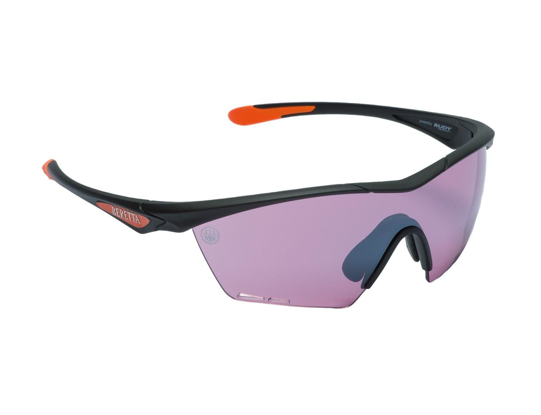 Lunettes de tir beretta clash - violet, made in chasse - ...