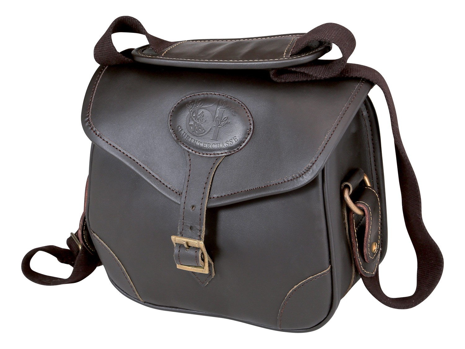 Sac à cartouches cuir club interchasse andy, made in chas...