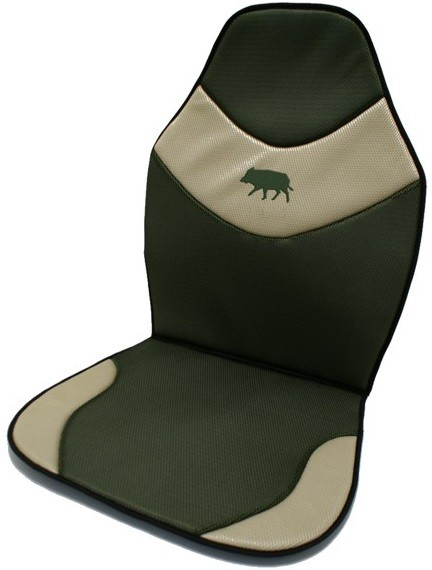 Couvre siège brodé, made in chasse - equipements de chasse