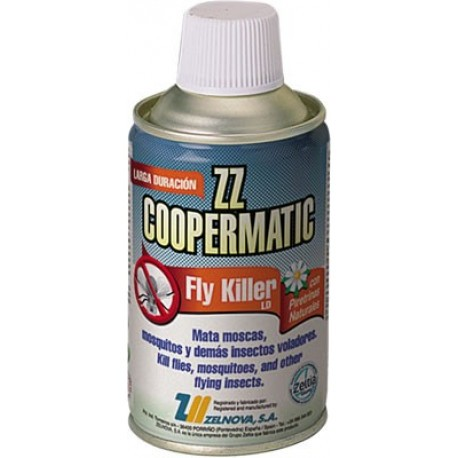 Pack 4 recharges d'insecticide Coopermatic