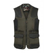Gilet de chasse Percussion Tradition brodé Sanglier