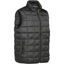 Gilet ouatiné Percussion Warm Noir