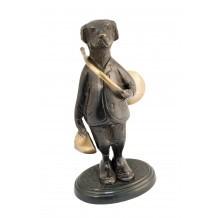 Figurine Chien en bronze