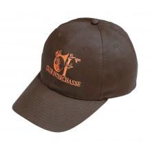 Casquette de chasse Club Interchasse Eddy Marron - Orange