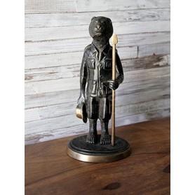 Figurine Lion en bronze