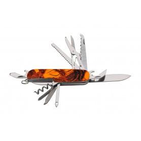 Couteau de chasse pliant Ligne Verney-Carron Kronos - Camo Orange