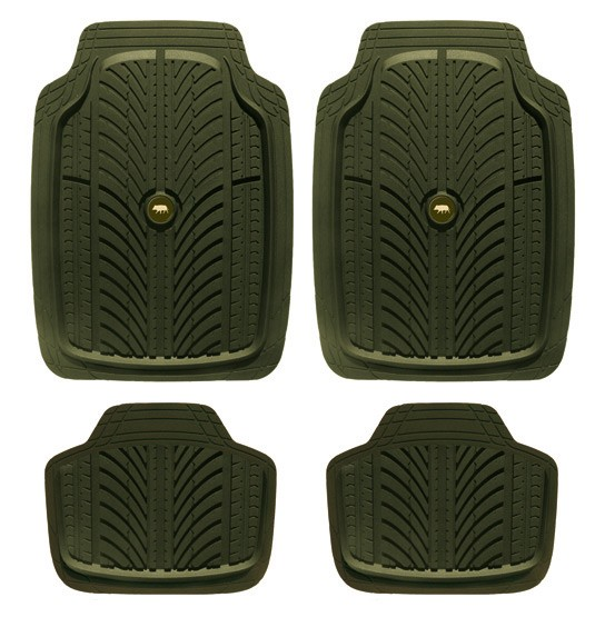 Tapis auto tread 4 pièces, made in chasse - equipements d...