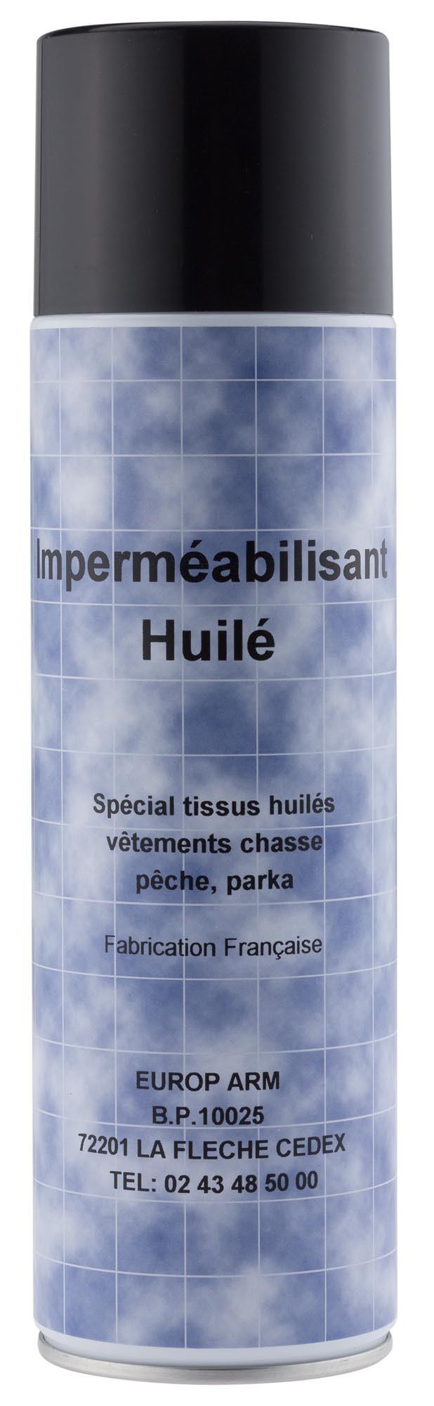 Spray imperméabilisant vêtements huilés, made in chasse -...
