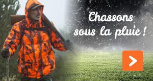 Chassons sous la pluie !